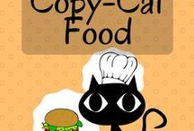 Food (Copy-Cat Recipes) / We all have that ONE dish we wish we could recreate. Take a gander at these pins, maybe your dish in here waiting for you to find it.