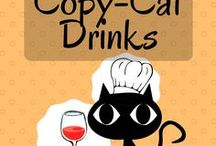 Drinks (Copy-Cat Drinks) / Think you can be your own barista? It's easy! These pins will show you how to whip up a drink so close to the original that it must be a copy-cat.