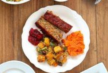 A Vegetarian Thanksgiving / Pass the vegetarian gravy and vegan pumpkin pie. Sides, desserts and main courses perfect for a vegetarian Thanksgiving dinner.