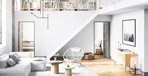 home ideas // modern and family friendly / Home. Mainly Scandinavian and Modern inspired. Obsessed with windows.