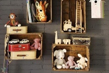 Storage Ideas  / Fun, frugal ideas for storing toys, craft materials, kitchen things, and for children's bedrooms