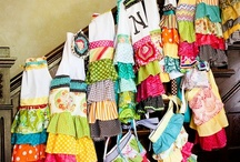 ~Sew, A Needle Pulling Thread-Bags, Aprons, & Accessories~ / by Angie H. Jones