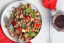 Quinoa! Quinoa! Quinoa! / We can't get enough of this complete (and completely awesome) protein. Quinoa recipes for everything from baked goods to breakfast.