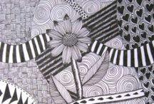 Doodles, Dangles and Zentangles