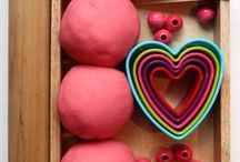 Playdough Play / Playdough play ideas, inspired by the best kid bloggers around! For babies, toddlers, preschools, kids and grown ups!