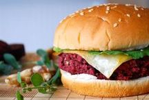 Veggie Burger Recipes / Step away from the frozen aisle! Making your own veggie burgers is easier (and tastier) than you think, thanks to these lovely recipes.