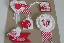 Stampin' Up! Card Candy / Card candy-- fun little things to decorate cards & tags! Http://www.stampinbythesea.stampinup.net