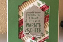 Christmas Stampin' Up! Cards / This board contains tons of Christmas card ideas!! Http://www.stampinbythesea.stampinup.net