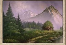 Art-Mountains or Lakes / by Honey Larson Self
