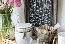 Coffee and Wine Bar / Home Coffee, Cocoa and Wine Bar