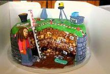 Kinderfeestje taarten hunebedden