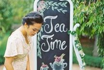 Tea Parties / Pins about tea parties, how to host a tea party, tea party recipes, tea party decor.