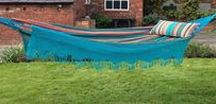 Time to relax! / Fabulous strong hammocks in great stripes for the summer.
