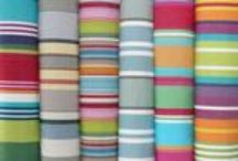 Fantastic Fabric! / We have a wide range of quality striped fabrics including deckchair canvas, interior fabrics, water repellent fabrics and oilcloth. Please visit our website to request fabric samples.