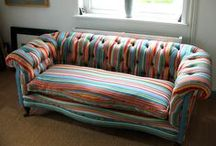 Upholstery Stripes / Giving life to furniture with Stripes