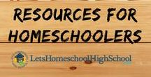 Resources for Homeschooling High School