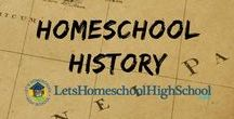 History - Homeschool High School / History resources that are useful to highschool homeschoolers!