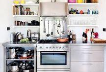 Kitchen / Küche / Schöne Küchen & hilfreiche, geniale Küchenaccessoires