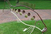 Metal Sculpture / Metal sculpture created by me - Ashley