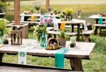 Backyard Weddings / Backyard weddings at home wedding