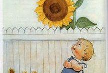 illustration  / le bonheur d'un instant, un fou rire et le crayon qui fait un tout ....