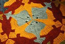 (knitting) Escher