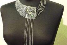 beautiful knitted art & jewellery