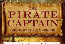 """The Pirate Captain's Novels / The Pirate Captain, Chronicles of a Legend by Kerry Lynne, """"Nor Silver"""",  """"Nor Gold"""" (released 2014) www.piratecaptain.net"""