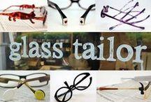 メガネ♪ / グラステーラーのお店でオーダーメイドして頂いた 「メガネ」たちです♪