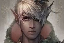 ➽ elves ➽ / ...mostly dark :D