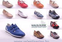 Waldläufer cipők, szandálok, / A Waldlaufer cipőmárka 50 éve a minőségi, megbízható kényelmi cipőt jelenti. A német székhelyű cég ma már ismert és elismert nem csak  Európában, de az egész világon. Köszönhetően a kényelem és divat harmóniájának  és a kiváló ár/érték  aránynak. Webáruházunkban és a Valetnia Cipőboltokban további Waldlaufer lábbelikből  válogathat kedvére!  www.valentinacipo.hu