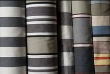 Grey Striped Fabrics / For a chic and contemporary look when redecorating and choosing or replacing curtains and blinds take a look at our range of striped fabrics which have various shades of grey in the stripes….