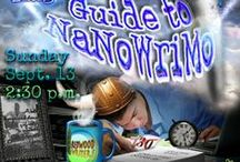 NaNoWriMo / Don't give up! You can do it! It's that time of year again when it really IS time to avoid all the unnecessary distractions and get down to writing that book in 30 days.
