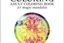 Magic Mandalas / Adult Coloring Books - Cosmic Coloring - Magic Mandalas http://www.azenpublishing.com  https://www.facebook.com/groups/cosmicmandalas/ Adult, Coloring, Colouring, Adult Coloring Books