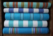 Blue Striped Fabrics / Update and refresh any room or pieces of furniture with cool and contemporary blue striped fabrics. Take a look at our pins for an insight into our range and for inspiration on how to make blue stripes work for you.