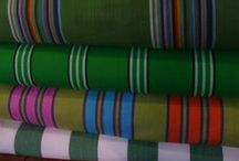Green Striped Fabrics / Go bright and bold with fantastic green accessories for your home and garden. Add a touch of nature to any room and brighten your windows with beautiful striped blinds. Take a look at our boards for inspiration and ideas on how to let your home flourish.