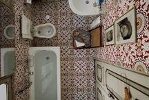 Räume - Waschen / Räume zum Waschen - Badezimmer - Duschen - WC Eine Sammlung aller Möglichkeiten. Von außergewöhnlich zu zeitlos - ein Sammelsurium. raumportrait.