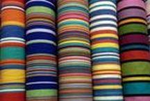 Interior Striped Fabrics