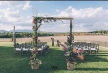 Rustic Wedding / Fotos de ceremonias rústicas.