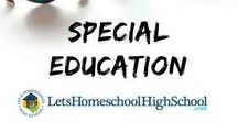 Special Education - Homeschooling Highschool