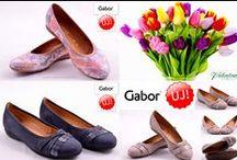 Gabor női cipők a Valentina Cipőboltokban és Webáruházban / Gabor cipőket imádók 4 kollekcióból választhatják ki a kedvenc lábbeliket, melyek a divatos tűsarkúak, a kényelmes és trendi mokaszinek, az ultrakönnyű bőr papucsokat és a párnázott, speciális talpkiképzésű szandálokat és balerinapapucsokat is megtalálhatók, melyek garantáltan minden terhet levesznek a túlterhelt lábakról. A Gabor cipőt minden esetben szakszerű vizsgálatnak vetnek alá. Minden Gabor cipőnek lelke van.  #gabor #gabor_cipo #gabor_cipobolt #gabor_webshop  http://valentinacipo.hu