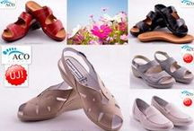 Aco Portugál cipők a Valentina Cipőboltban és Webáruházunkban / ACO cipők kizárólag kiváló minőségű bőrből készült komfort cipők. Szinte minden modell kivehető talpbetéttel rendelkezik, így könnyen bele lehet illeszteni bármilyen speciális gyógytalpbetétet. Az ACO cipők Portugáliában készülnek.