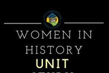 Women in History Unit Study / A collection of resources to be used as a unit study.