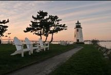 RI  Lighthouses / Lighthouses around Newport and the Rhode Island Area / by Hyatt Regency Newport Hotel & Spa