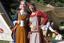 Historical & Re-enactor's Costumes / by Magdalena76th Pins