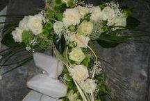 Trauerfloristik. www.ginkgo-wyhl.de / Blumen trösten...