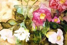 Shirley Trevena watercolours