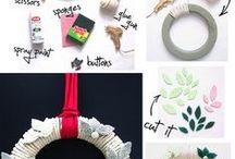 Faça você mesmo/DIY / Ideias criativas para decoração da casa ou uso pessoal.