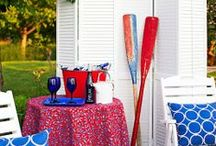 Stillwater Spa - Holiday Decor Ideas / The Stillwater Spa round up of fabulous fashion, food and decor for the 4th of July!