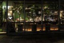Tokyo in night / 夜の東京。ショウウインドーなど night view Tokyo